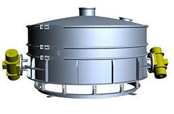przesiewacz niskoprofilowy, sito wibracyjne, amkco, prodoreko, separator
