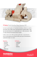 13 Series Finish Grinding Hammer Mill