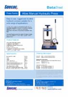 (MD20) Manual Press