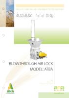 blowthrough air lock