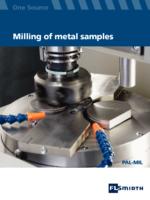 metal sapmles milling
